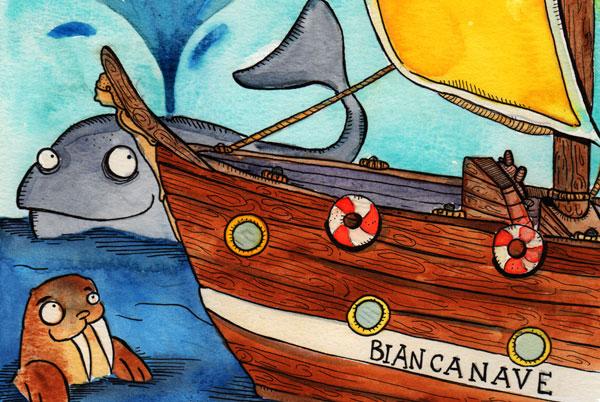BIANCANAVE E I 7 MARI