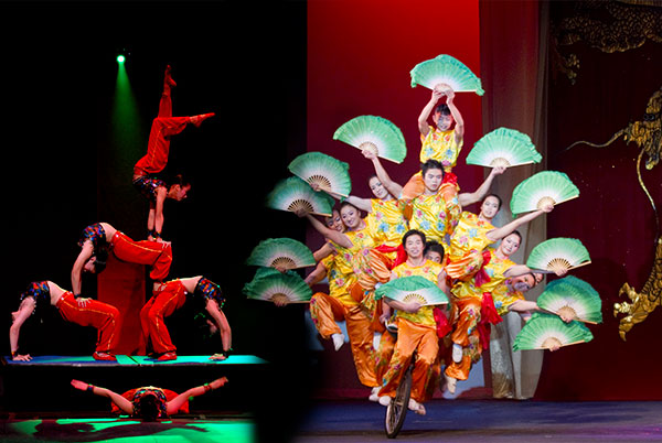 THE CHINA ACROBATIC CIRCUS OF HENAN