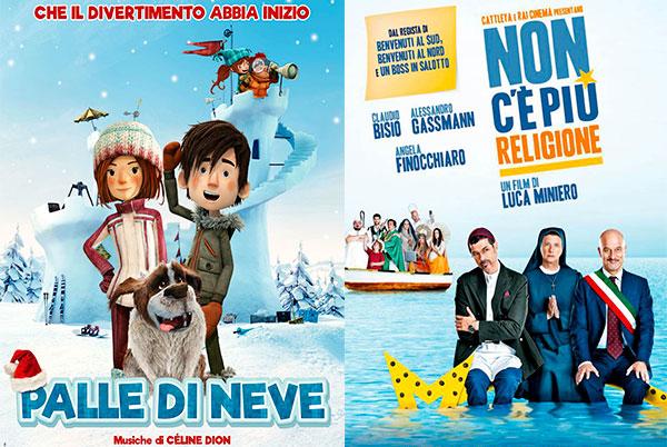 PALLE DI NEVE + NON C'E' PIU' RELIGIONE