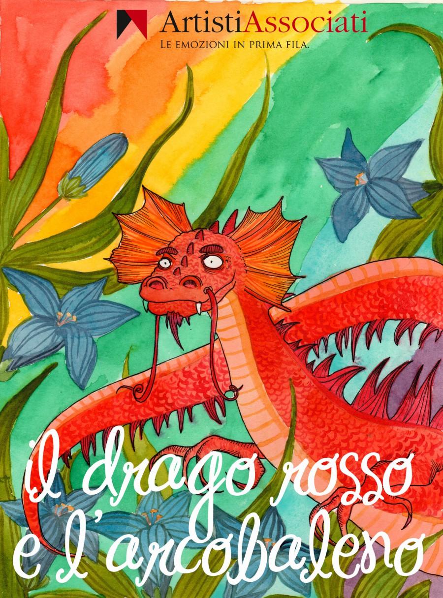 Drago-rosso e l'arcobaleno