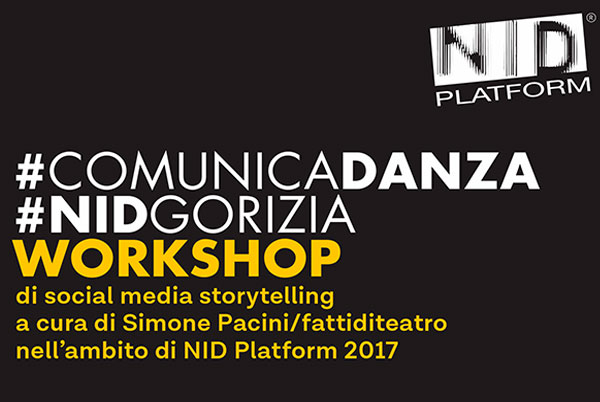 WORKSHOP #COMUNICADANZA