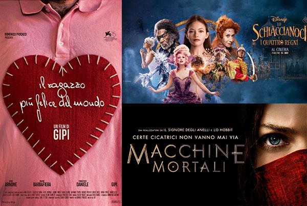 CINEMA FESTIVITÀ GENNAIO 2019