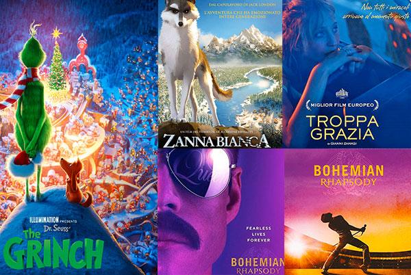CINEMA FESTIVITÀ DICEMBRE 2018