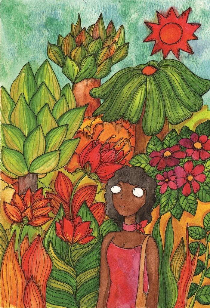 Il canto magico della foresta Illustrazione Andrea Tarella